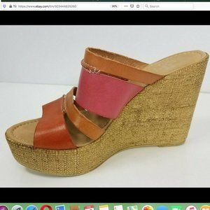 Sotto Sopra wedges summer shoes